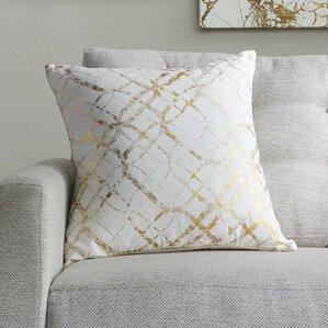 Beshears 100% Cotton Throw Pillow