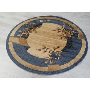 Barrymore Blue/Beige Rug by Charlton Home