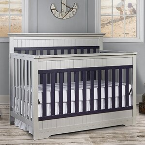 chesapeake 5in1 convertible crib - White Baby Crib