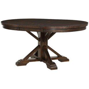 Suzana Pedestal Extendable Dining Table