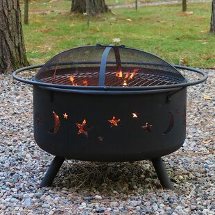Round Fire Pit Grill Wayfair