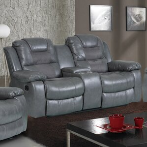 Addison Reclining Sofa by Brassex