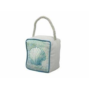 Seashell Sandbag Door Stop
