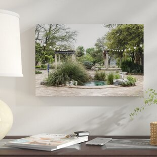 Water Feature Photographic Print On Canvas