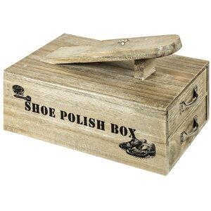 Schuhputzkiste von Hazelwood Home