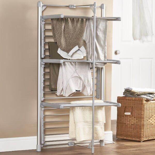 VonHaus Heated Clothes Drying Rack & Reviews   Wayfair