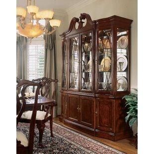 Staas Wood Lighted China Cabinet