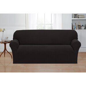 Box Cushion Sofa Slipcover by Ebern De..