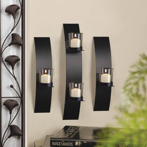3 Piece Iron Sconces Set