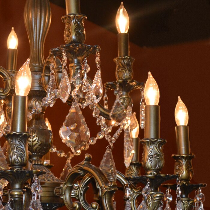 Astoria Grand Dodson 15-Light Chain Crystal Chandelier & Reviews ...