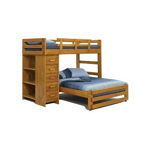 Twin Over Full Loft Bed wi..