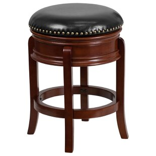 Lafe Backless 25'' Swivel Bar Stool