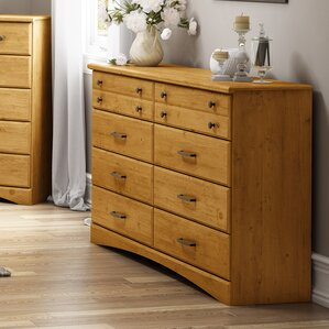 Cabana 8 Drawer Double Dresser by South Shore