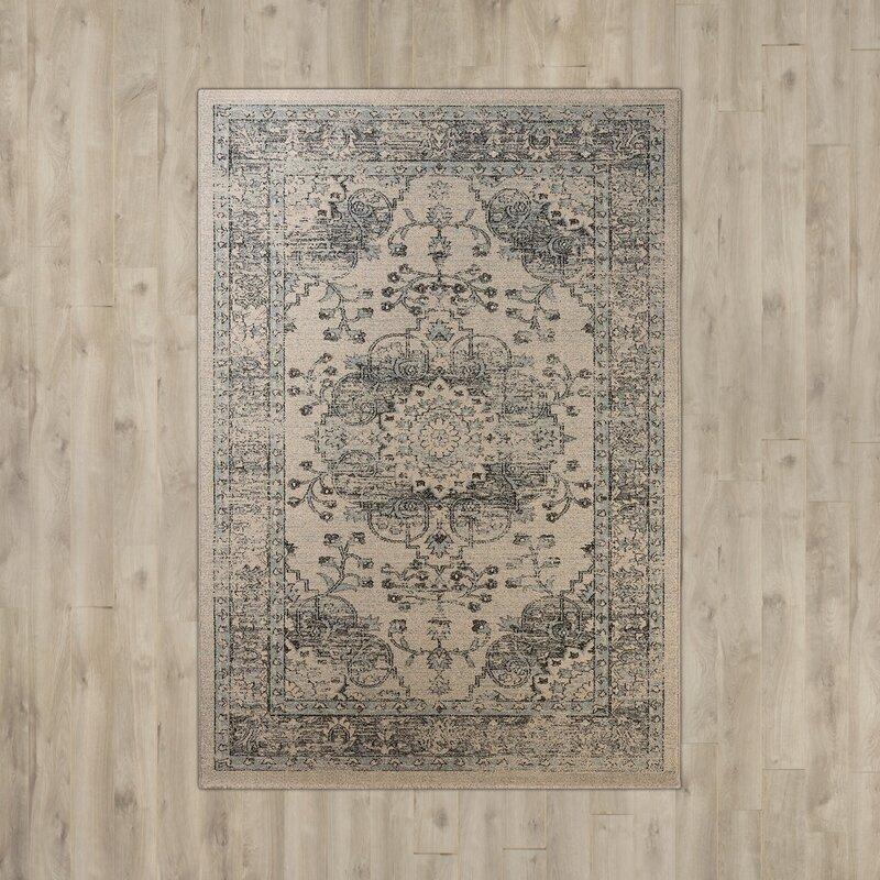 safavieh teppich carmel in beige blau. Black Bedroom Furniture Sets. Home Design Ideas