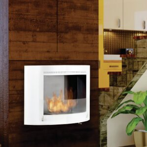 Olympia Wall Mount Ethanol Fireplace by Eco-..