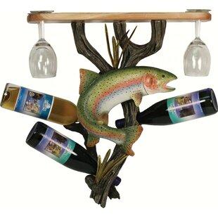 Shiey Trout 3 Wine Bottle Rack