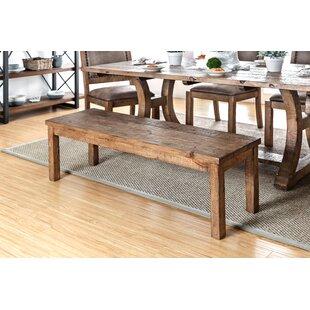 Cian Rustic Wood Bench