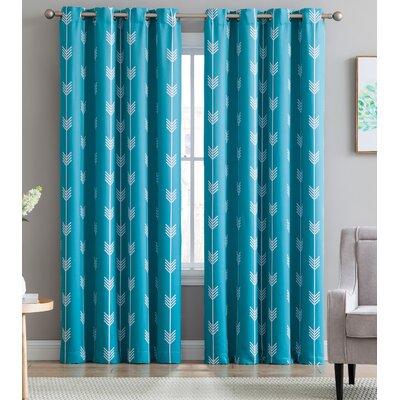 Teal Curtains Amp Drapes You Ll Love Wayfair