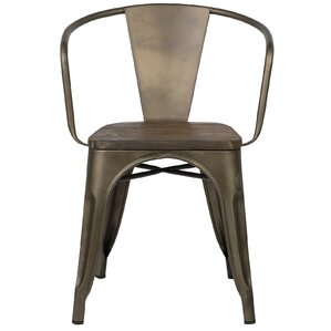 Alyssa Metal Arm Chair by Zipcode Design