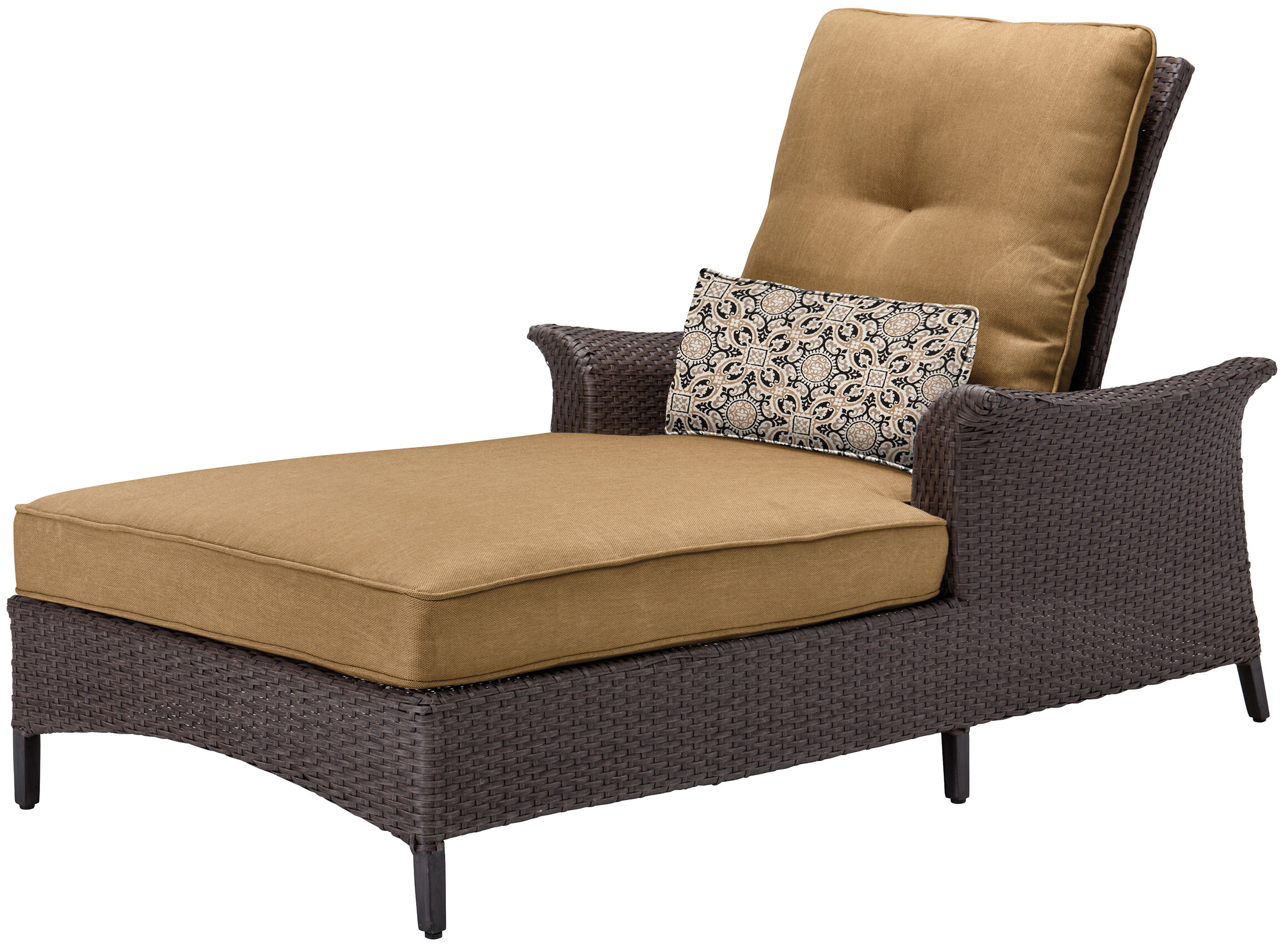 Merveilleux Daigle Reclining Chaise Lounge Chair With Cushion