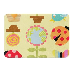 Spring Repeat by Jane Smith Bath Mat
