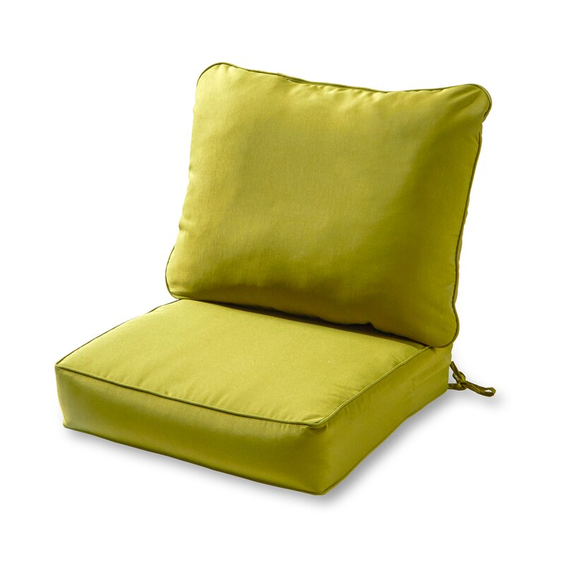 Sarver Outdoor Lounge Chair Cushion