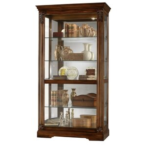 Andreus Tuscany Lighted Curio Cabinet by ..