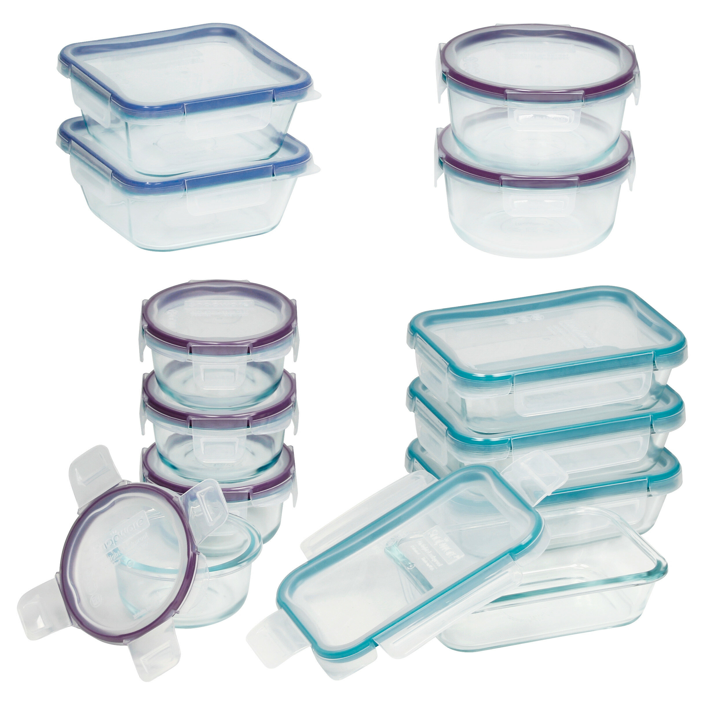 Snapware Snapware 12 Container Food Storage Set Reviews Wayfair