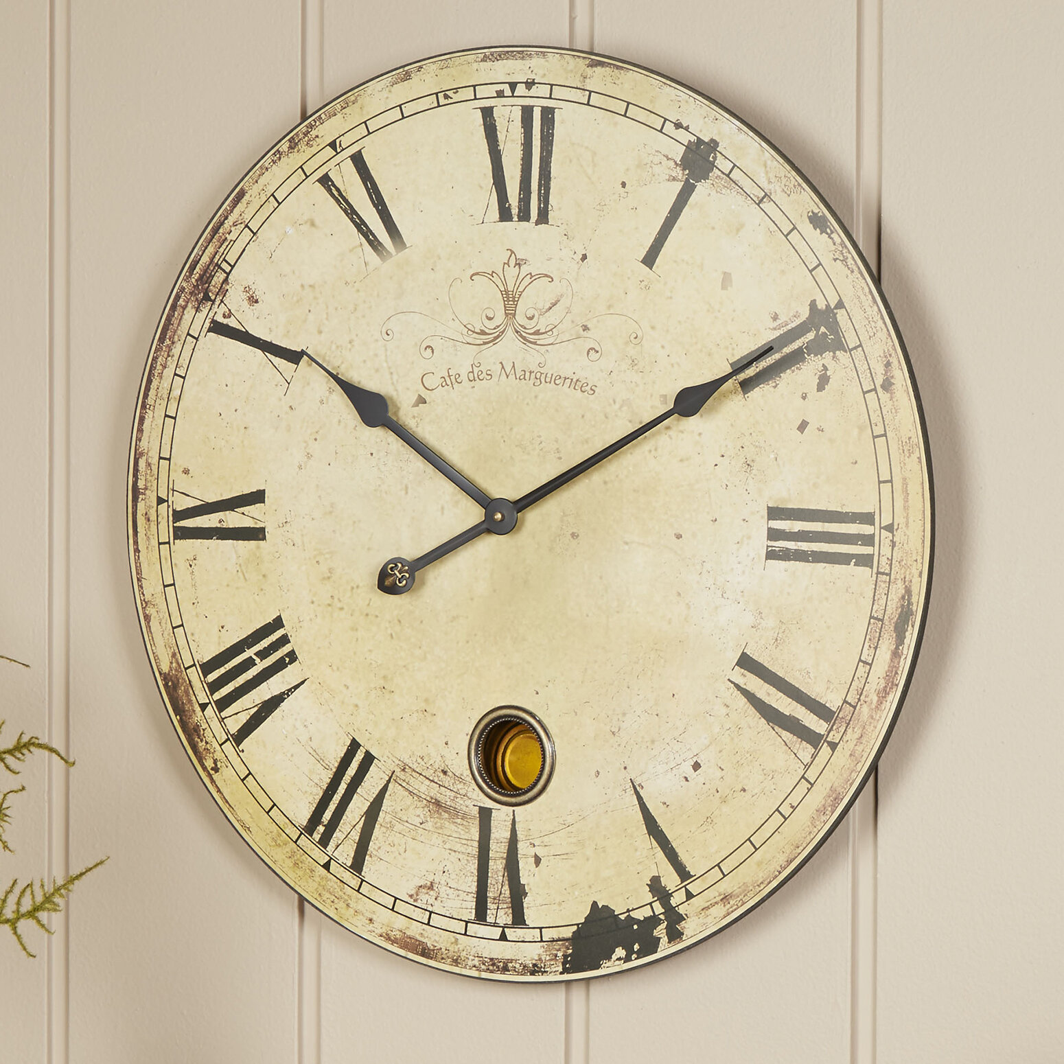 Birch Lane™ Oversized Wall Clock & Reviews | Birch Lane