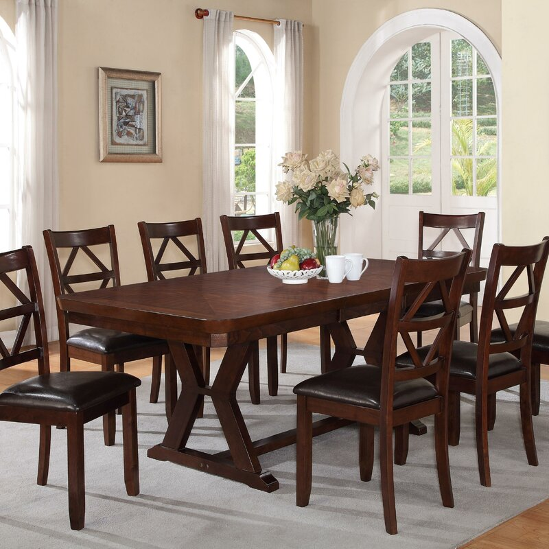Red Barrel Studio Beaver Creek Extendable Dining Table & Reviews ...