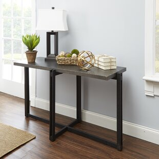 Baran Distressed Console Table