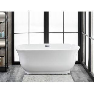 59 61 Inches Freestanding Bathtubs Youll Love Wayfair
