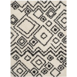 Messiah Ivory/Charcoal Area Rug