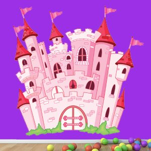 Castle Wall Decal