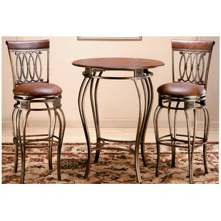 Copenhagen 3 Piece Pub Table Set