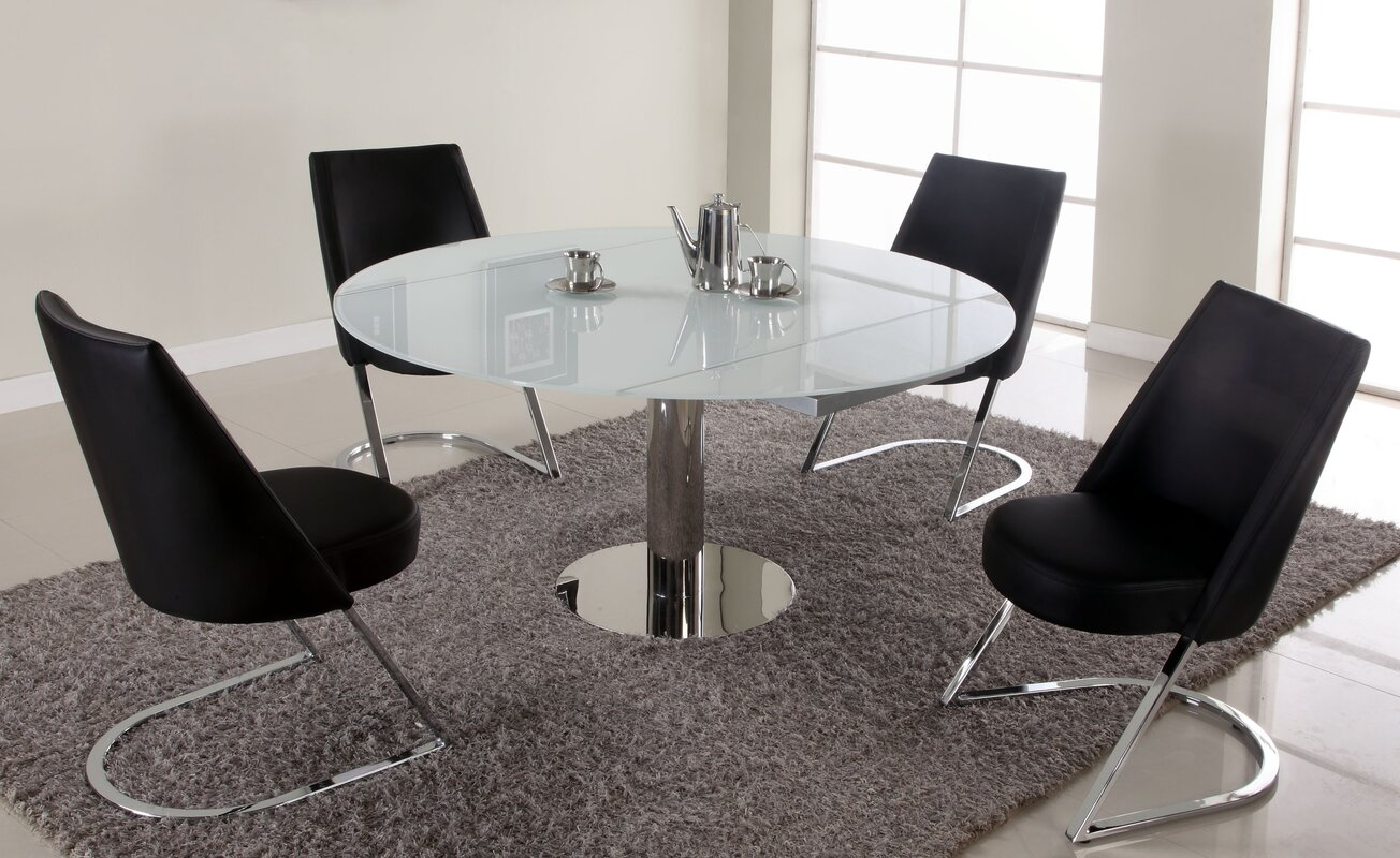 Extendable Dining Room Table Chintaly Tami Extendable Dining Table & Reviews  Wayfair