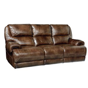 Applewood Manual Motion Reclining Sofa by Re..