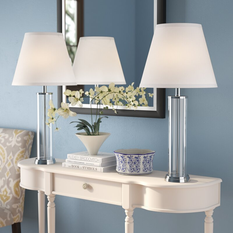 "Three Posts Poulson 28"" Table Lamp & Reviews"