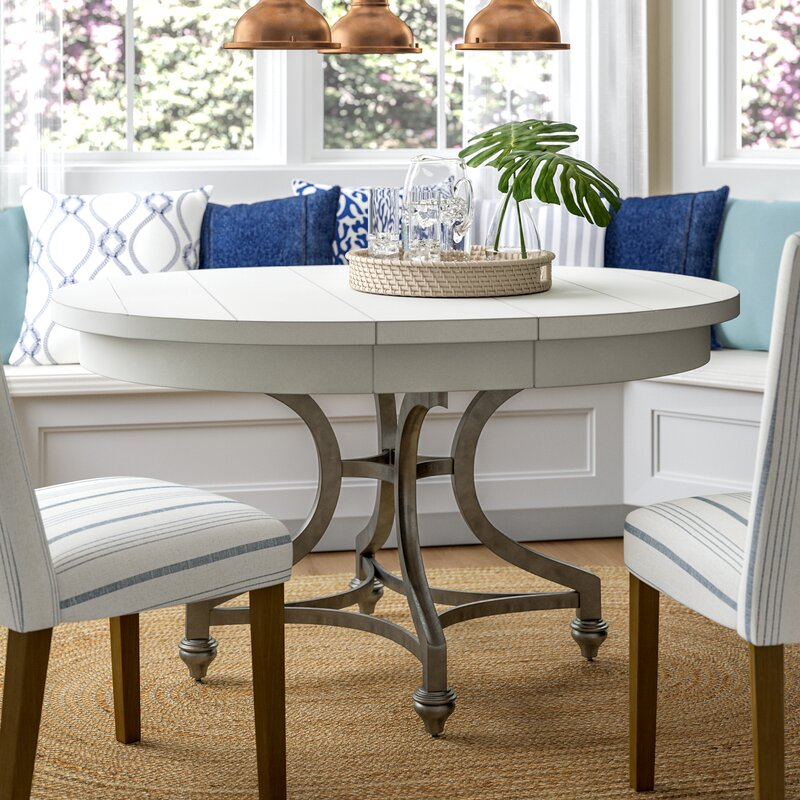 Lark Manor Saguenay Extendable Dining Table & Reviews