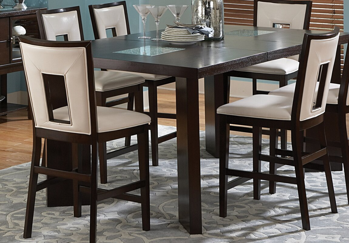 brayden studio hillcrest  piece counter height dining set  -   piece kitchen  dining room sets sku brys