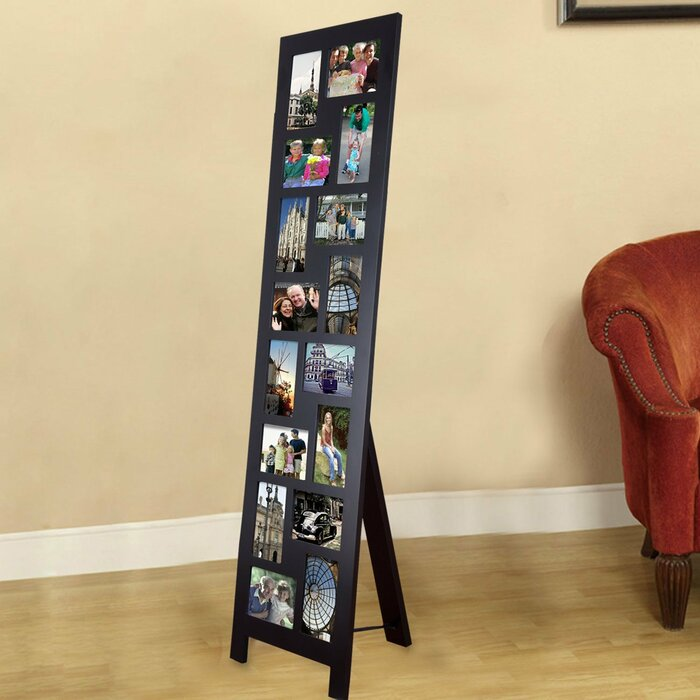 16 Opening Wood Floor Standing Easel Picture Frame