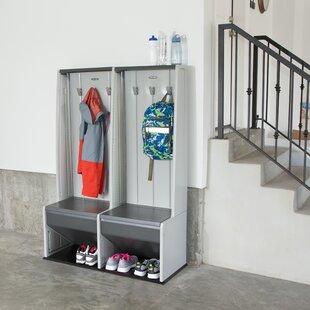 Home Storage 1 Tier 2 Wide Home Locker
