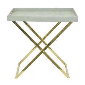 Travis Heights Folding Tray Console Table