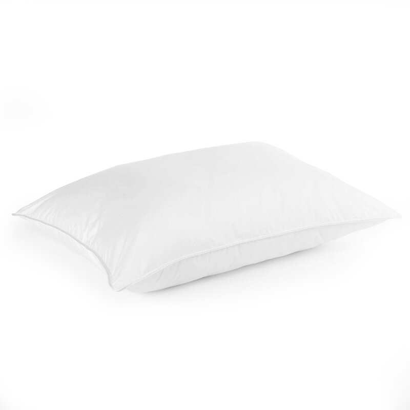 stomach sleeper extra soft feather jumbo pillow