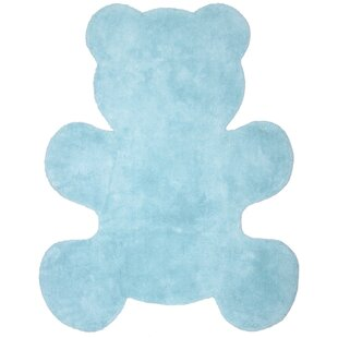 Little Teddy Blue Area Rug by Nattiot