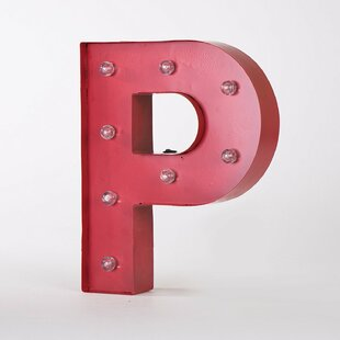 Marquee Led Lighted Letter Block