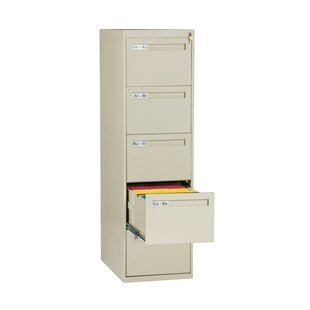 5 Drawer Vertical Legal Size File Cabinet