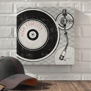 Vintage Record Player Stand Wayfair