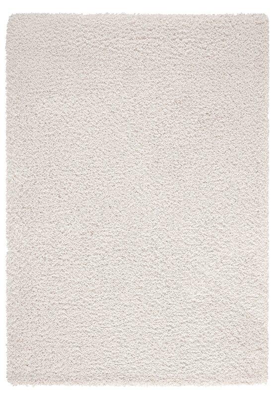 Red Barrel Studio Craig High Pile Plain Shaggy White Rug Reviews