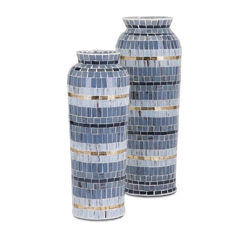 Trisha Yearwood Home Collection Cowboy Mosaic Vase Reviews Wayfair